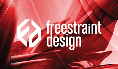 Freestraint Design visual identity feature image