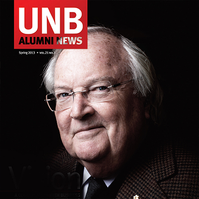 University of New Brunswick Alumni News feature image