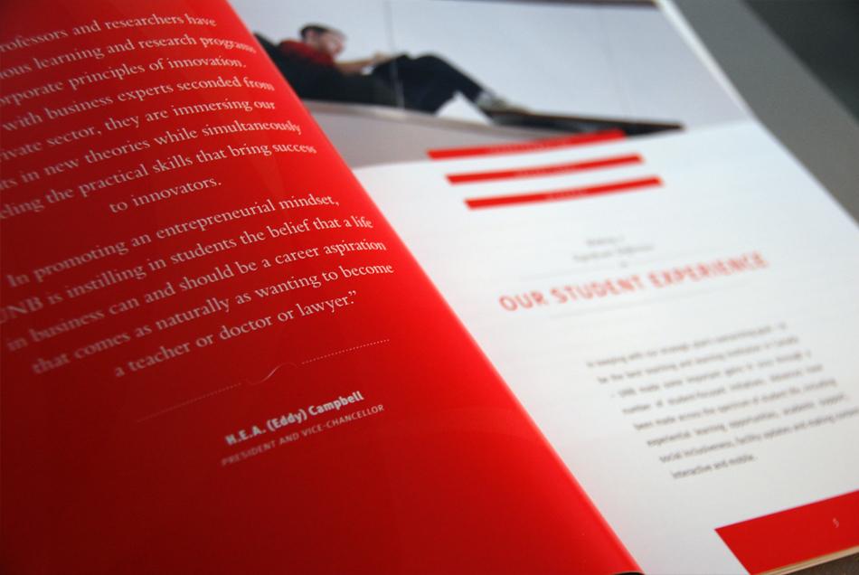 University of New Brunswick President's 2012 Annual Report