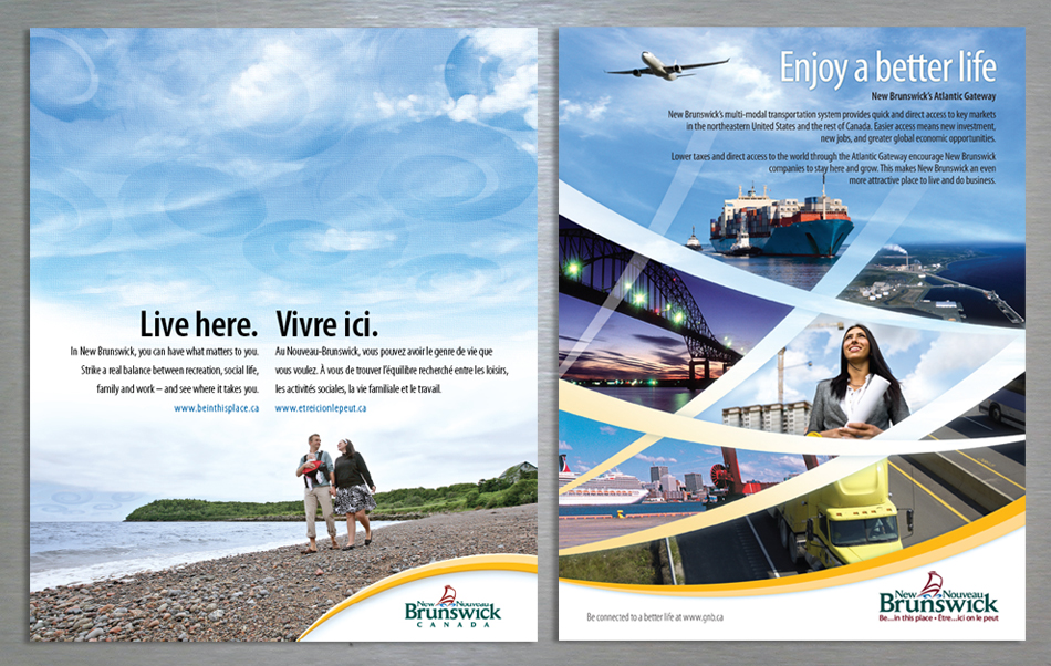 Government of New Brunswick advertising