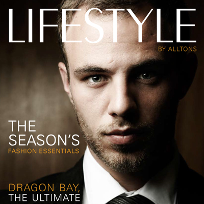Lifestyle retail magazine editorial design feature image