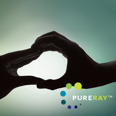 PureRay visual identity feature image