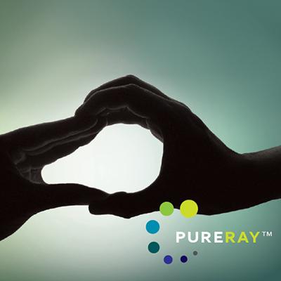 PureRay visual identity feature image