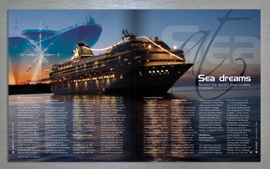 trenz lifestyle magazine editorial design